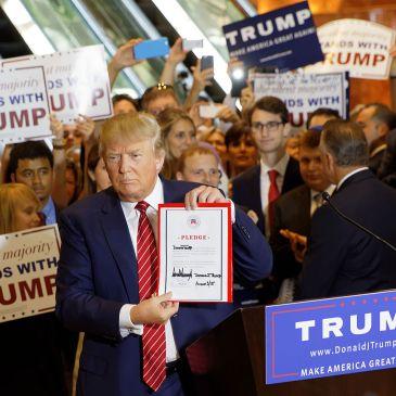 Donald Trump in September 2015