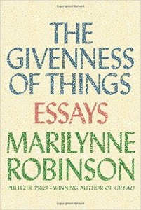 Robinson, The Givenness of Things