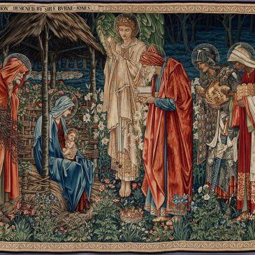 "Burne-Jones, ""The Adoration of the Magi"""