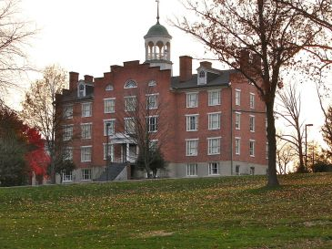 The oldest building at the Gettysburg Seminary, built about thirty years before the famous Civil War battle
