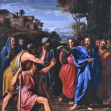 "Colombel, ""Christ Healing the Blind"""