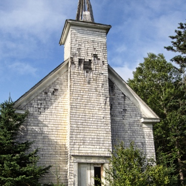 Abandoned church in Nova Scotia