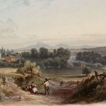 Bethlehem, PA in the 1830s