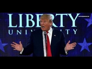 Donald Trump at Liberty University
