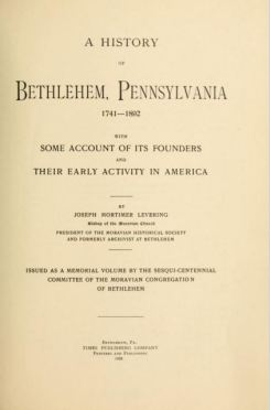 Levering title page