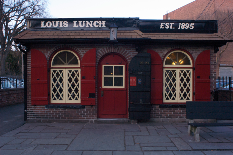 Louis' Lunch in New Haven, CT