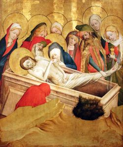 Meister Francke, The Entombment of Jesus