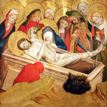 Meister Francke, The Entombment of Jesus
