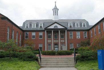 Nyvall Hall at North Park University