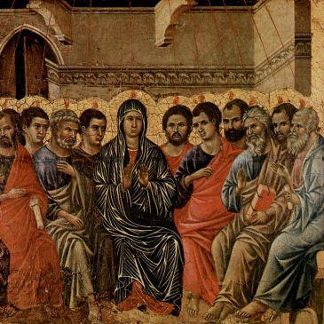 Duccio, Pentecost