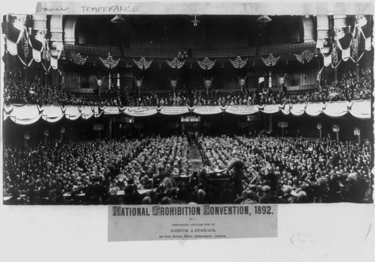 Prohibition Party convention in 1892