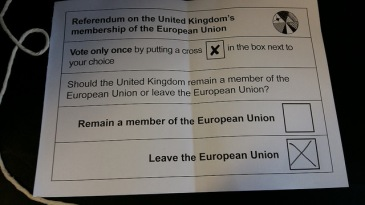 Leave ballot