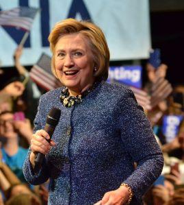 Clinton in Philadelphia, April 2016