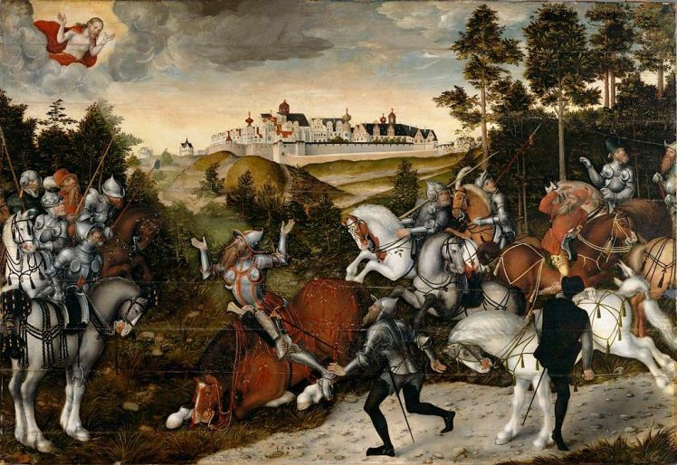 Cranach the Younger, The Conversion of Saul