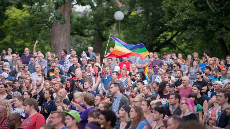 Orlando shooting vigil in Minneapolis