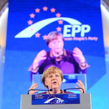 Angela Merkel speaking in 2012