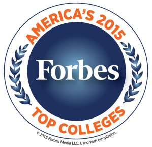 Forbes 2015 Top Colleges logo