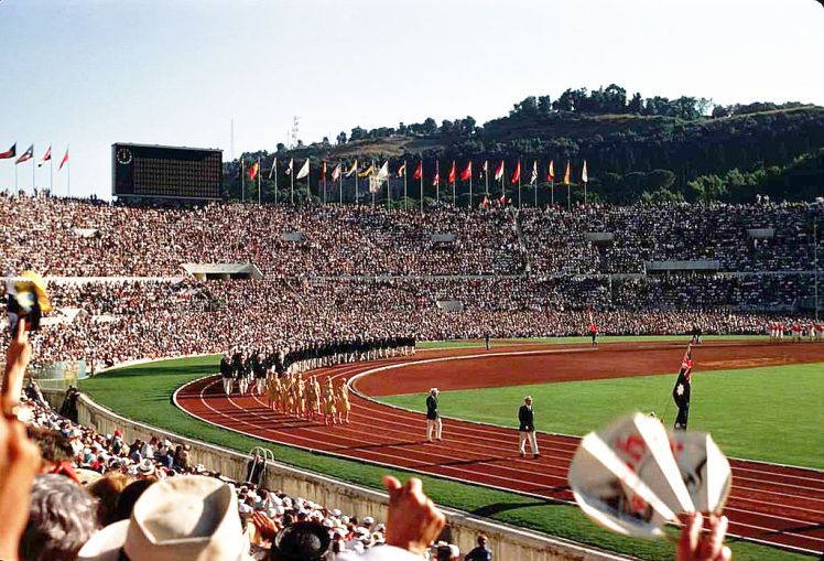 1960 opening ceremonies in Rome
