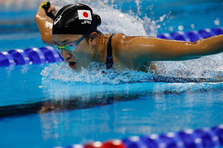 Japanese swimmer at Rio Games