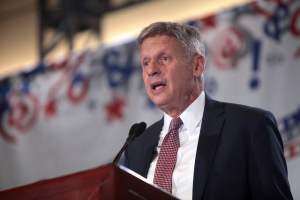 Gary Johnson in June 2016