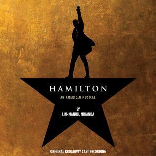 Cover of the Hamilton cast recording