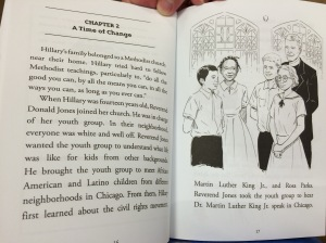 Pages on Hillary Clinton's Methodist upbringing in Alexander, Who is Hillary Clinton?