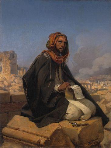 Vernet, Jeremiah on the Ruins of Jerusalem