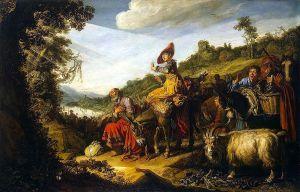 Lastman, Abraham's Journey to Canaan