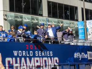 Cubs victory parade on Nov. 4, 2016