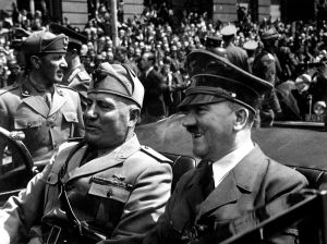 Benito Mussolini and Adolf Hitler, June 1940