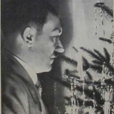 Hitler with Christmas Tree