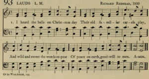 "1912 version of ""I Heard the Bells on Christmas Day"""