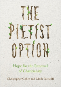Tentative cover of The Pietist Option