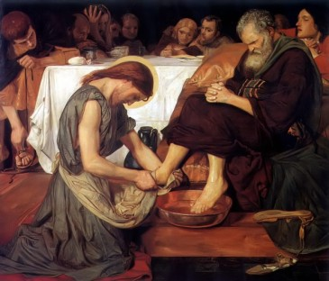 Brown, Christ Washing Peter's Feet