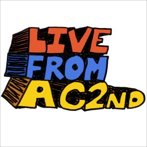 Logo for the Live from AC2nd podcast network