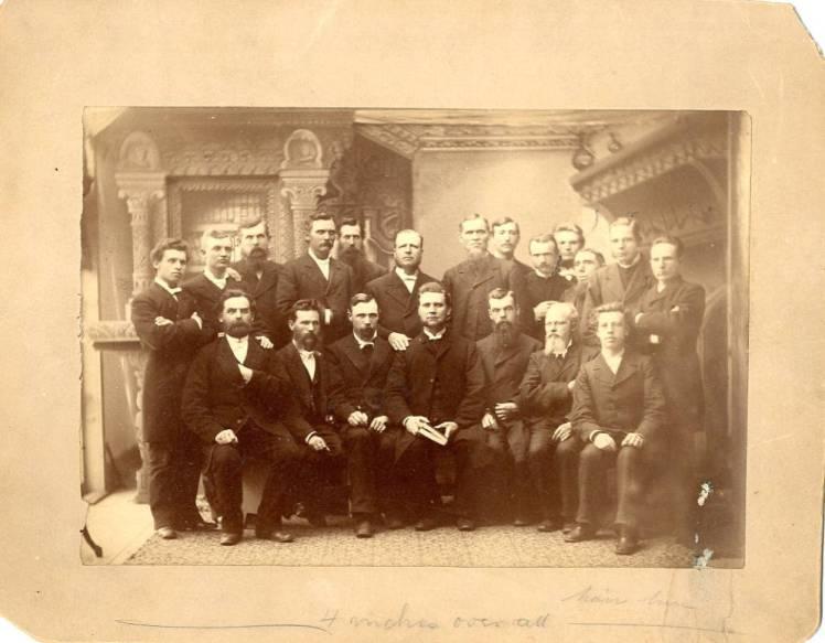 Mission Synod pastors, 1882