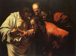 Caravaggio, The Incredulity of St. Thomas
