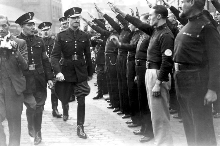 Oswald Mosley and British Blackshirts