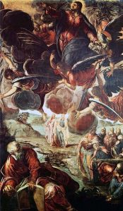 Tintoretto's Ascension of Christ