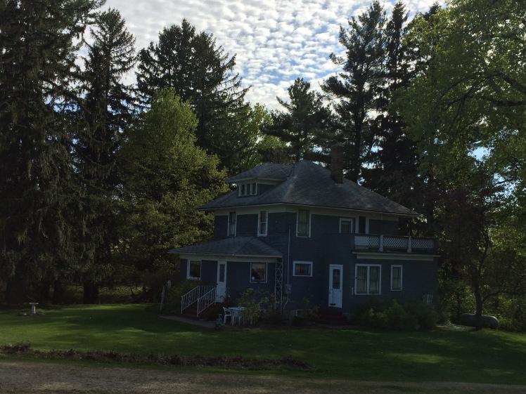 My grandparents' farm house