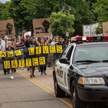 BLM Castile march in July 2016