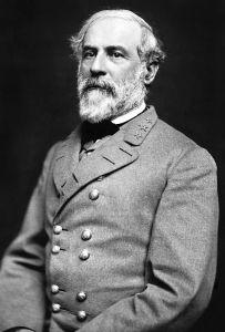 1864 photo of Robert E. Lee