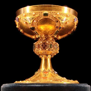 12th century gold chalice
