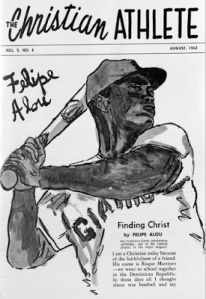 Felipe Alou on the August 1962 cover of The Christian Athlete