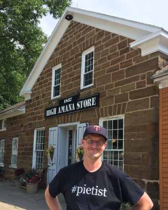 The end of our tour: the general store in High Amana