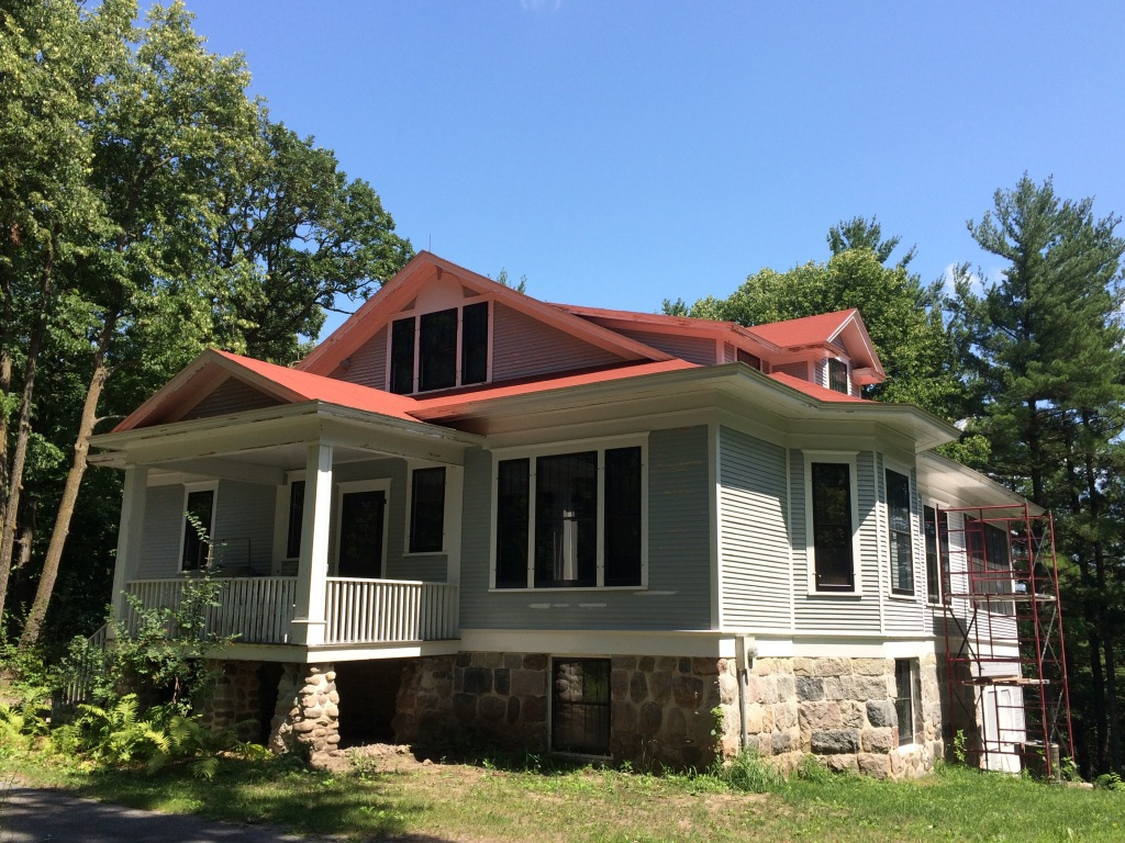 The Lindbergh House, two miles south of Little Falls, MN