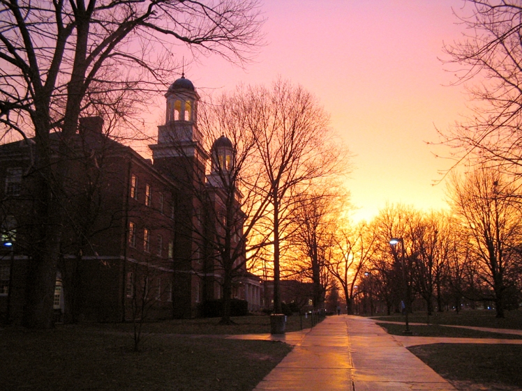 Harrison Hall at Miami University (OH)