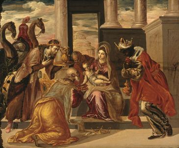 El Greco, Adoration of the Three Magi