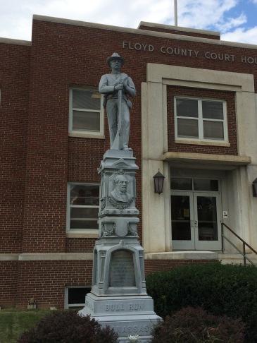 Confederate memorial Floyd, Virginia