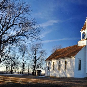Methodist church in Battle Center, Iowa